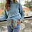 Thumbnail: Pretty knit . Light blue