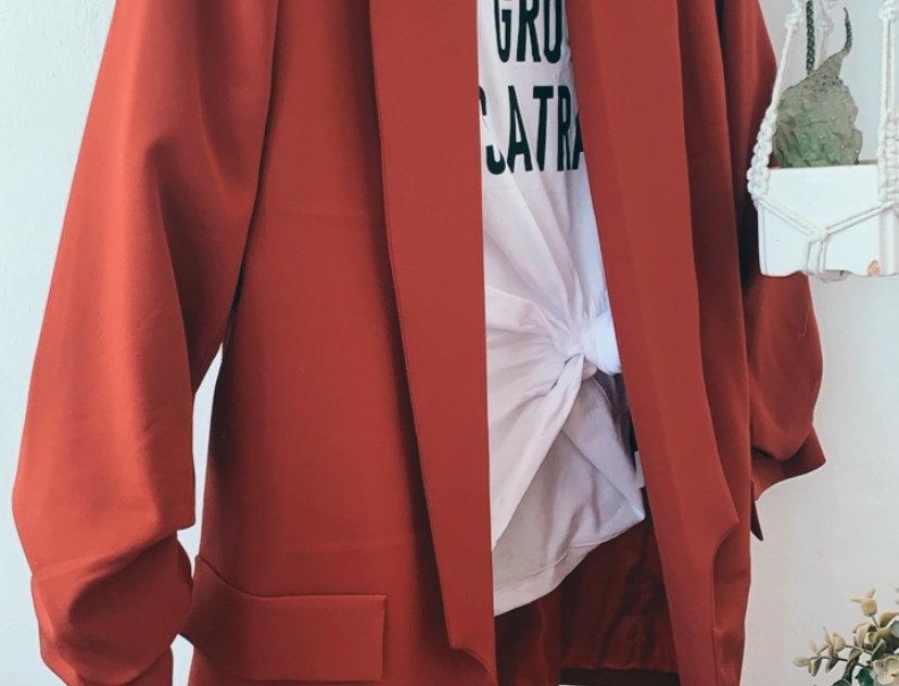 Jacket cinnamon