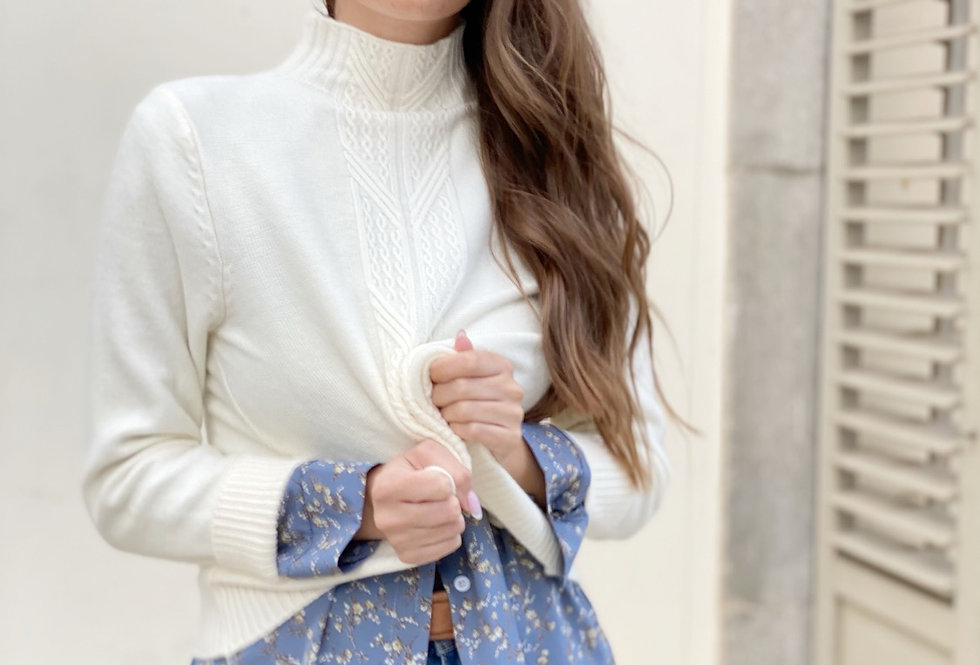 Pretty knit (cream)