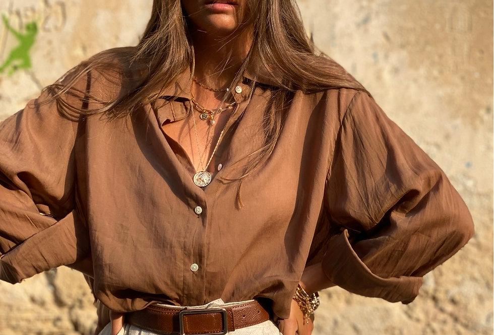 Monroe silk brown