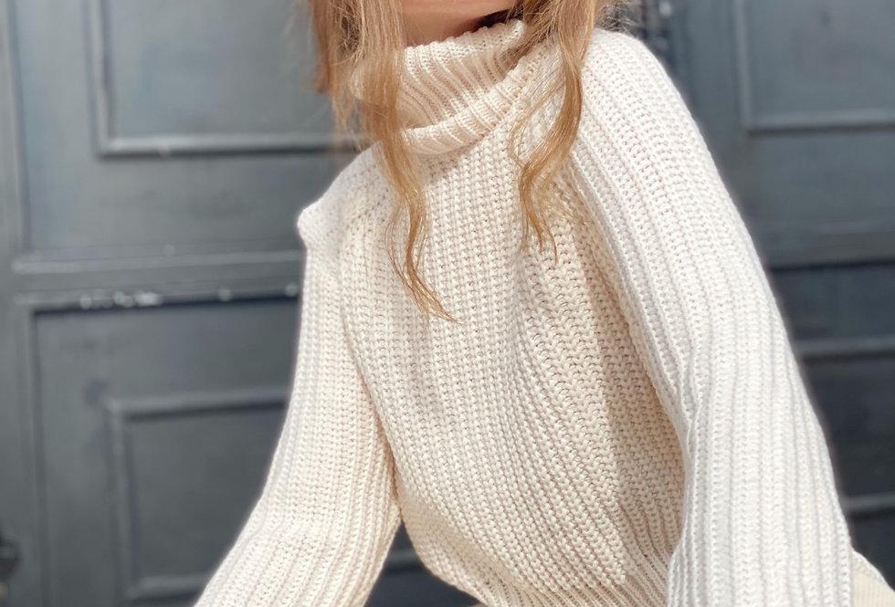 Samanta knit cream