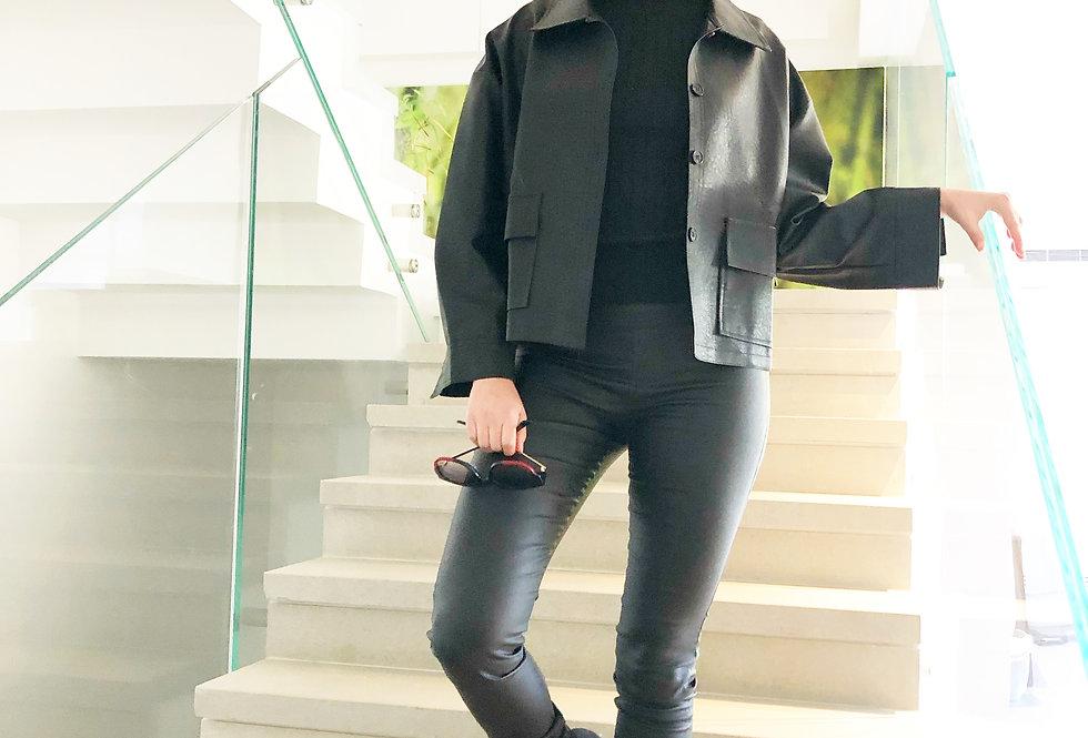 Suger daddy jacket black