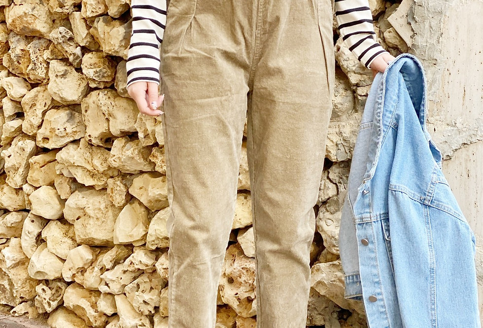 Corduroy best pants