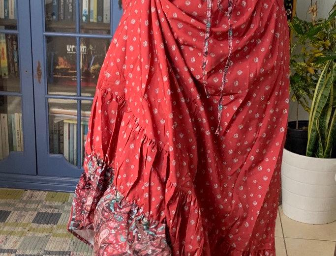 Boho love -maxi skirt