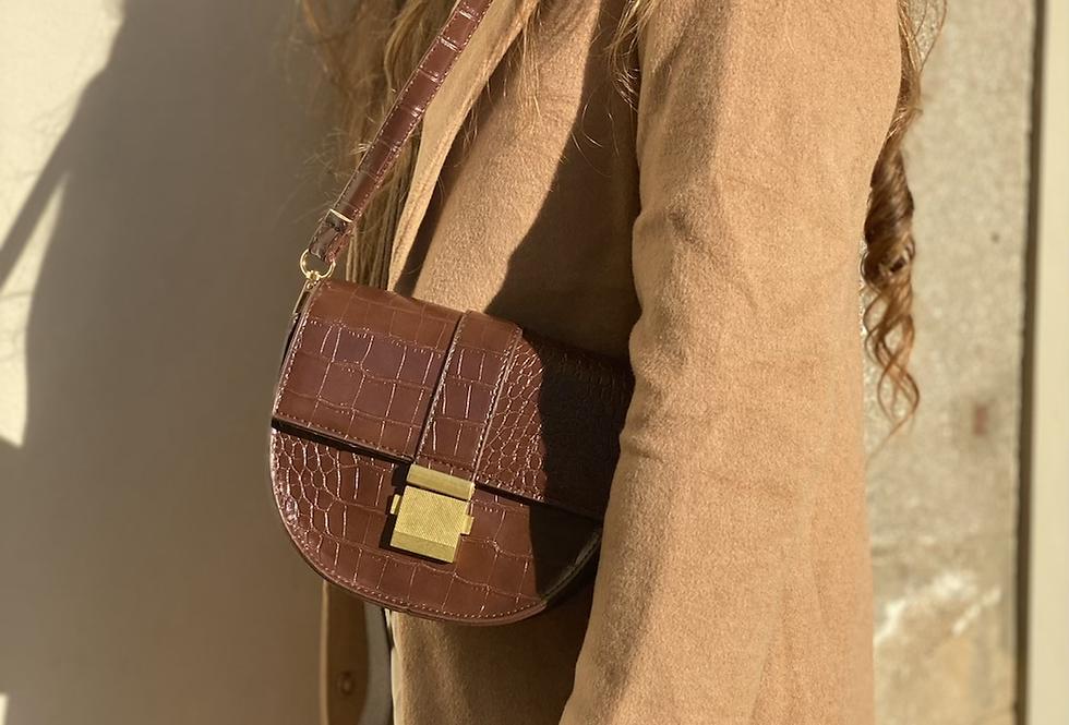 My little dark brown bag