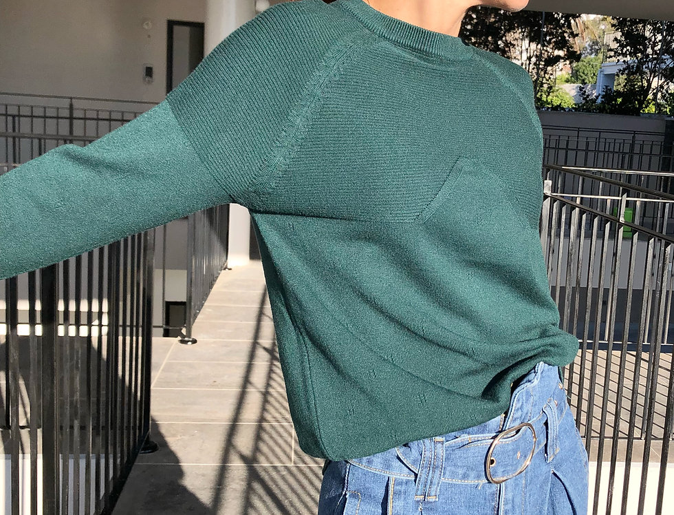 Just landed green knit