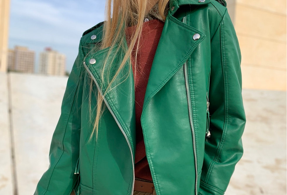 Ponzi jacket green