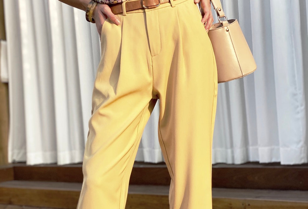 Roza yellow pants