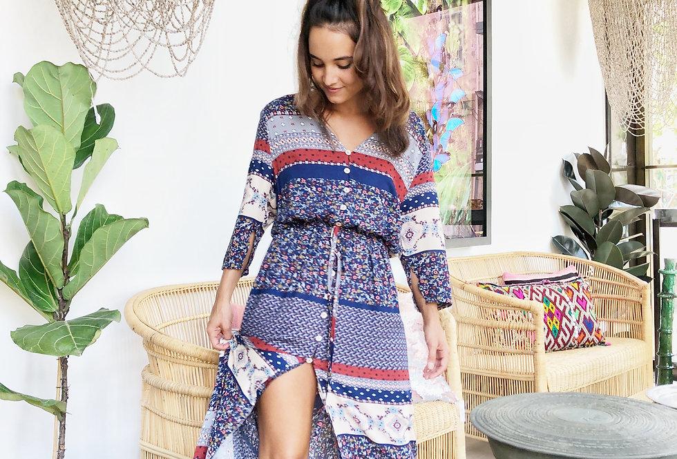 Boho bombastic dress
