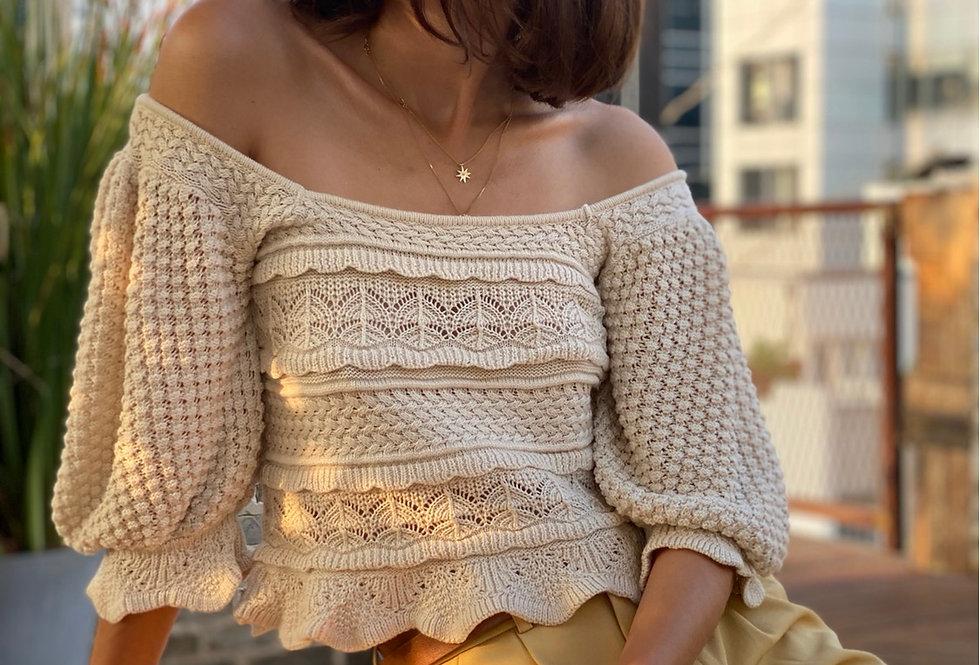 Frida knit top