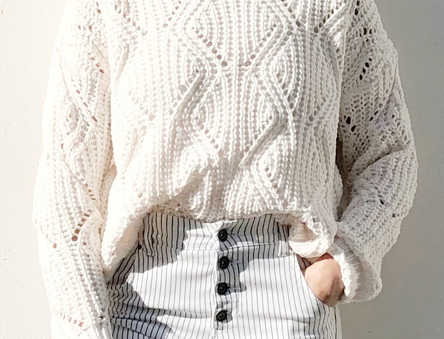 Cool mama knit top
