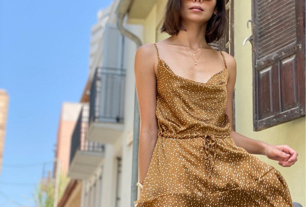 True love dress brown