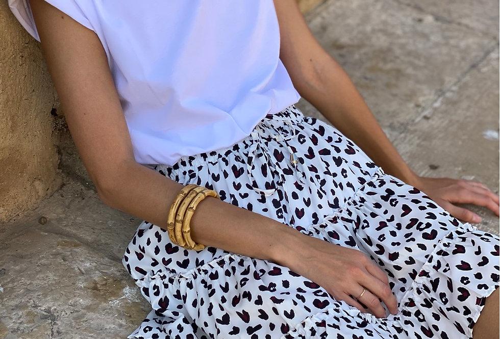 Tiger mini skirt