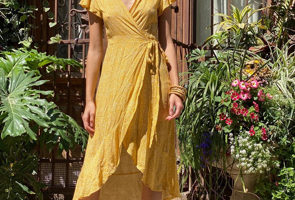 Ocean dress yellow