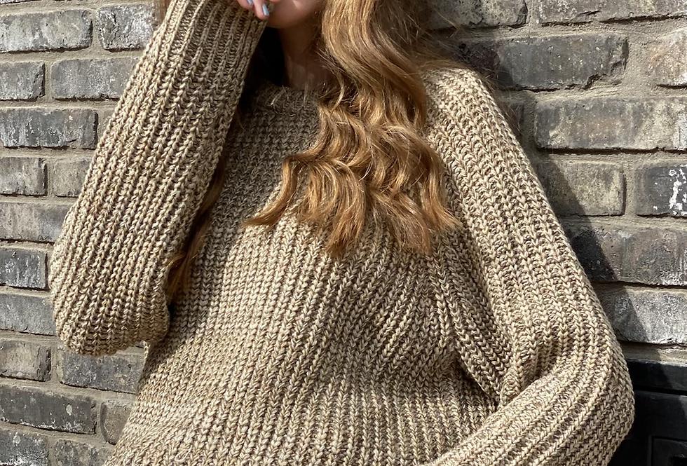 Miranda knit mix browns