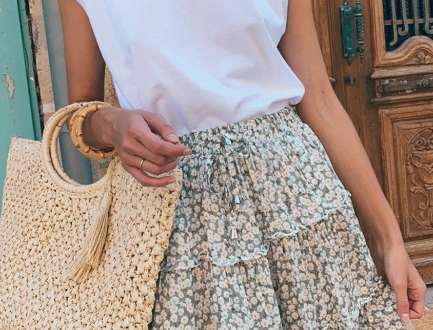 Summer skirt ( light green)