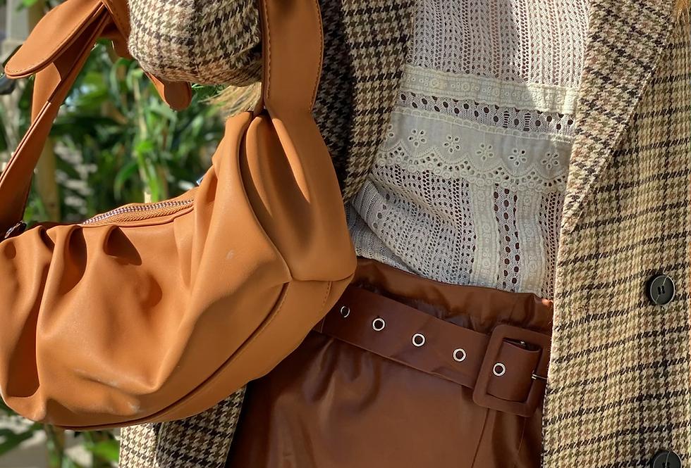 Fashionista bag caramel