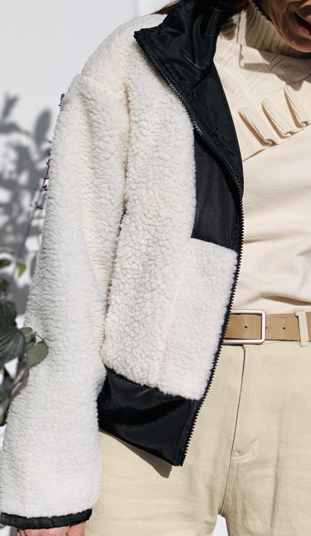 Thumbnail: Black & white jacket