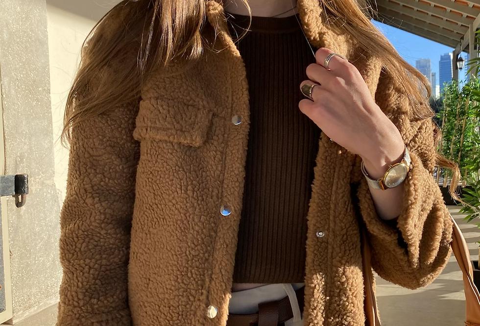 Chunky monkey coat