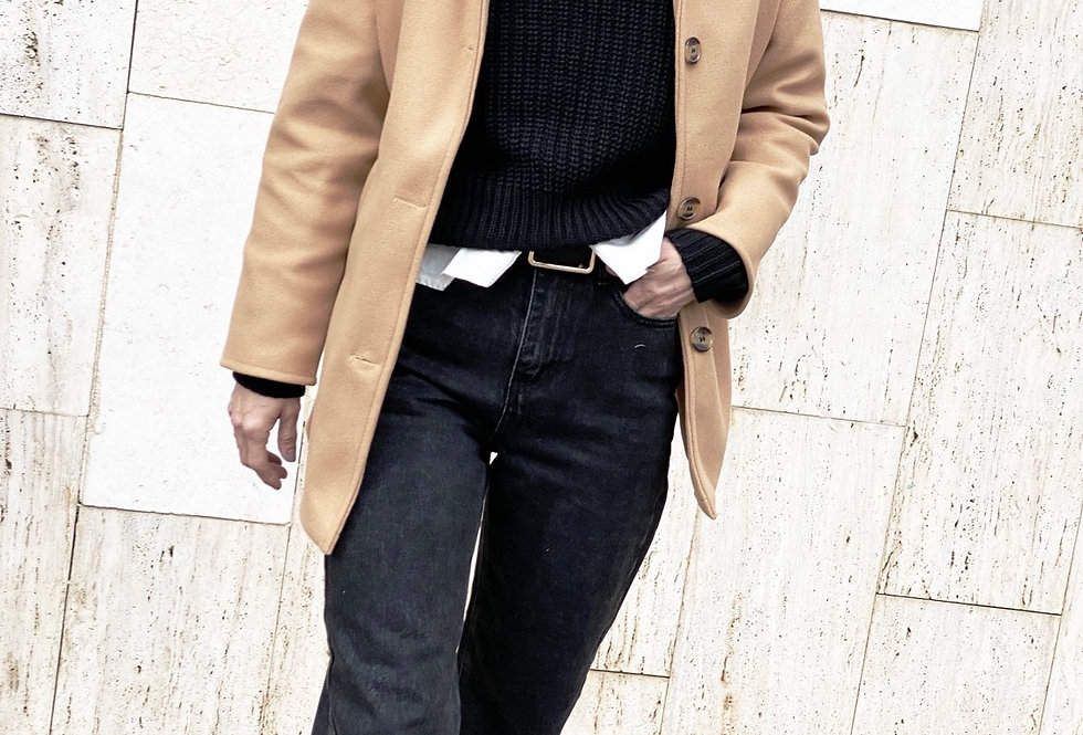 Foxy brown coat (camel)