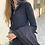 Thumbnail: Zipper knit black