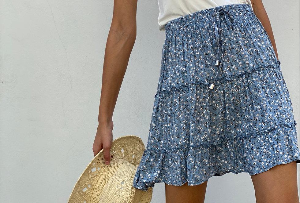 Summer skirt ( light blue)