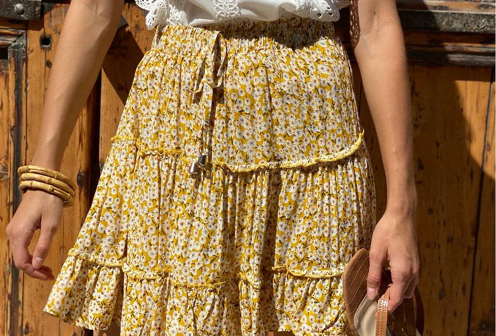 Summer skirt ( yellow)