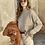 Thumbnail: Super star knit light brown