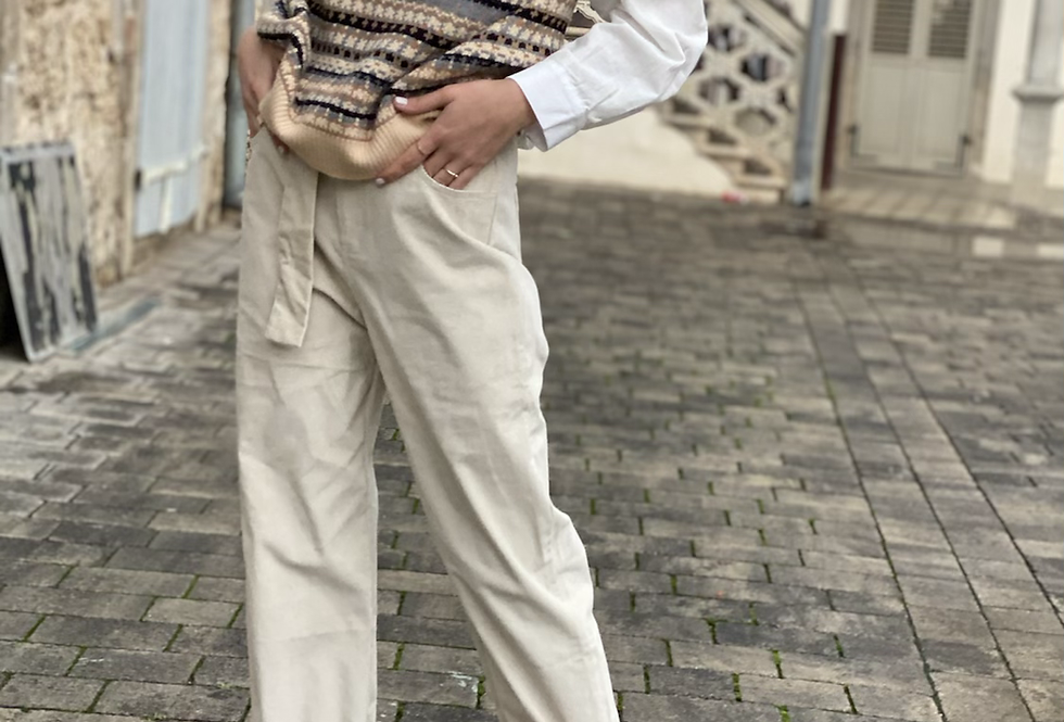 corduroy light pants