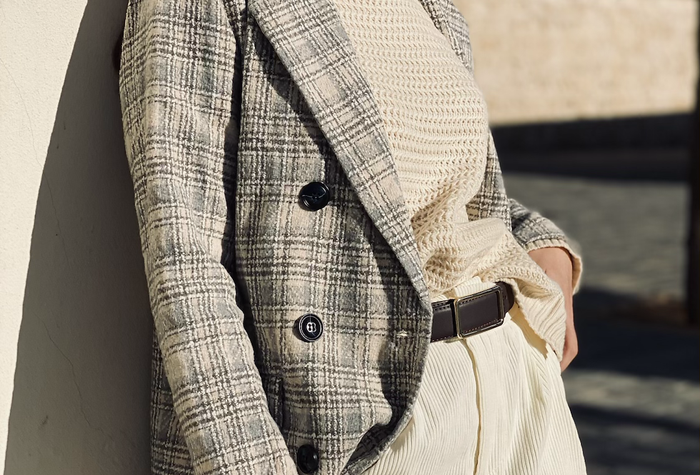 Holmes  jacket light gray