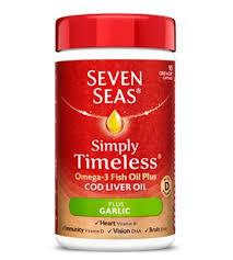 Seven Seas Plus Garlic 90 Capsules