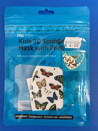 Childrens Reusable Face Mask with Animal Print