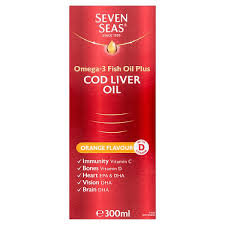 Seven Seas Cod Liver Oil Orange 300ml