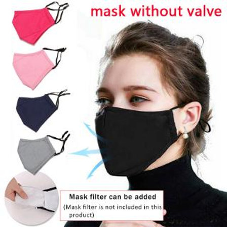 Multilayered Adult 100% Cotton Face Mask