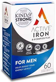 Acitve Iron For Men 30 Caps& 30 Tabs