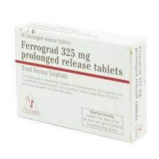 Ferrograd 325mg Tablets
