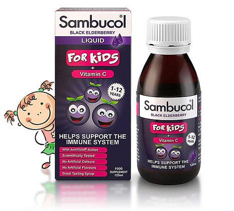 Sambucol Kids Liquid 120ml Bottle - Immune System Boost