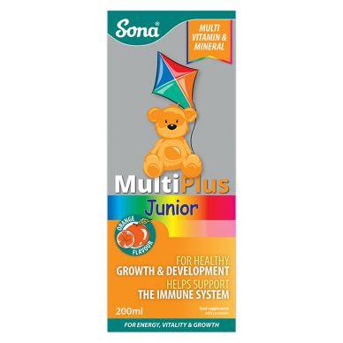 Sona Multiplus Junior Liquid 200ml