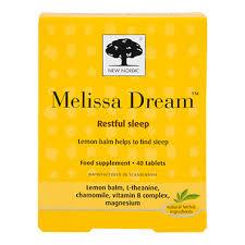 New Nordic Melissa Dream 20 Tablets