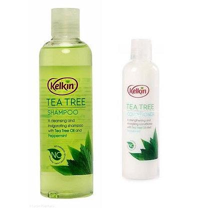 Kelkin Tea Tree Shampoo & Conditioner Twin Pack