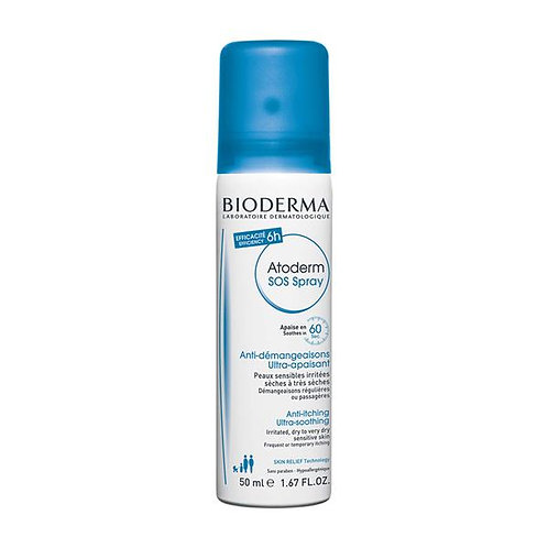 Bioderma ATODERM SOS SPRAY / Anti-itching moisturising spray - 50ml