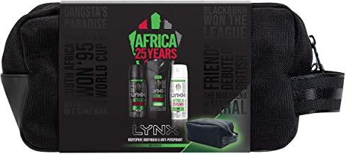 Lynx Africa 25 Year Wash Bag Gift Set
