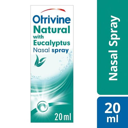Otrivine Natural Congestion Relief Nasal Spray 20ml