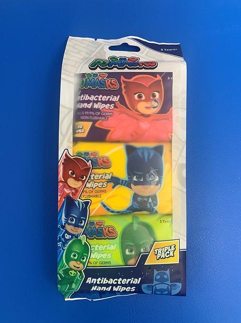 PJ Masks Anti-Bacterial Hand Wipes Triple Pack
