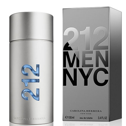 212 NYC men by carolina herrera 1.0 oz eau de toilette spray