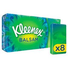 Kleenex® Balsam Tissues 8 Pocket Packs