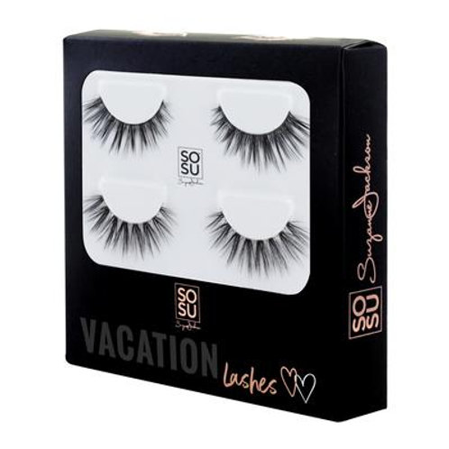 VACATION LASHES WITH GLUE