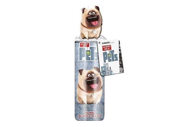 The secret life of Pets Mel Bubble Bath with Topper