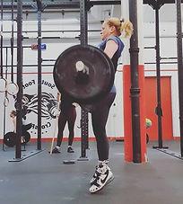 Olympisches Gewichtheben Personal Training