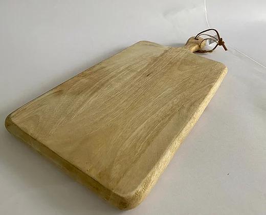קרש חיתוך עץ מנגו טבעי